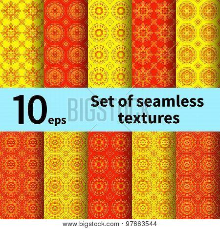 Set Of Seamless Textures