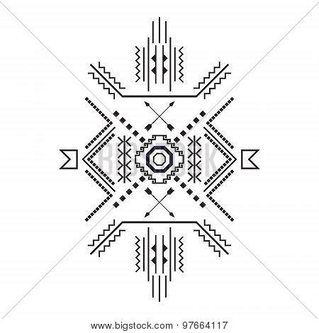 Vector Elements Of Tribal Ethnic Theme .