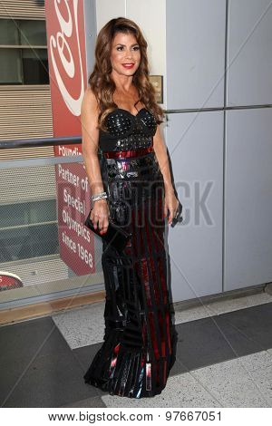 LOS ANGELES - AUG 1:  Paula Abdul at the The Dizzy Feet Foundation`s Celebration Of Dance Gala at the Club Nokia on August 1, 2015 in Los Angeles, CA