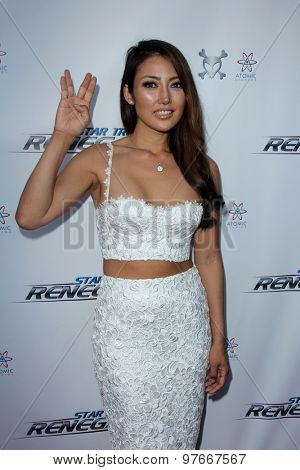 LOS ANGELES - AUG 1:  Chasty Ballesteros at the