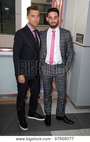 LOS ANGELES - AUG 1:  Lance Bass, Michael Turchin at the The Dizzy Feet Foundation`s Celebration Of Dance Gala at the Club Nokia on August 1, 2015 in Los Angeles, CA