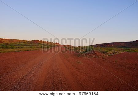 Outback Road, Pilbara, Australia