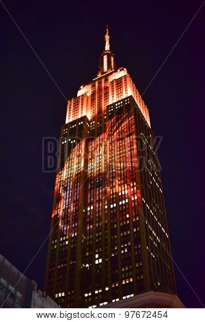 Empire State Building - Racing Extinction