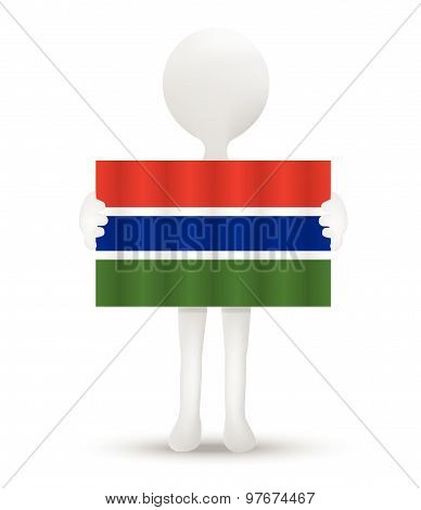 Flag Of Republic Of The Gambia
