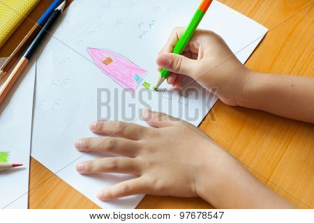 Children's Drawing And Painting