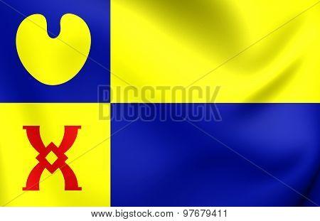 Flag Of Geldrop-mierlo City, Netherlands.