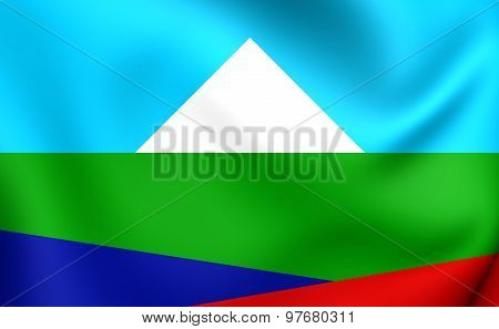 Mapuche Flag Of Pehuenche Territory