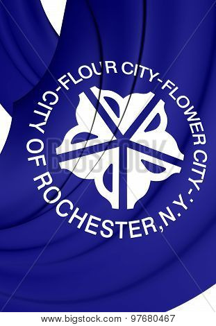 Flag Of Rochester, New York.