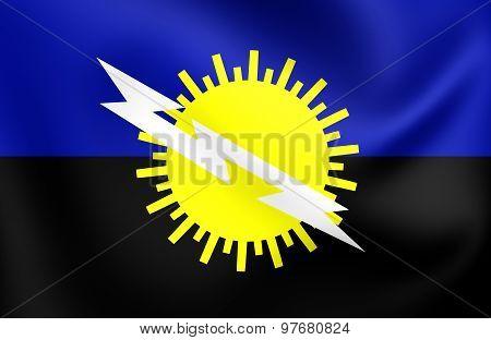 Flag Of Zulia State, Venezuela.
