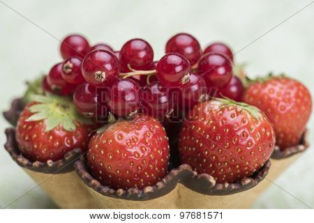 Strawberry And Pomegranate