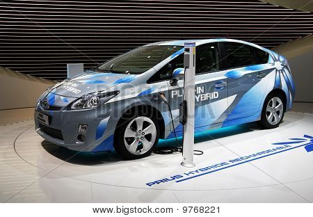 Toyota Prius Plug-in Hybrid At Paris Motor Show