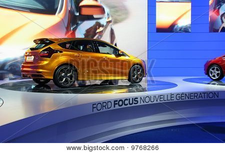 Ford Focus New Generation Stand At Paris Motor Show