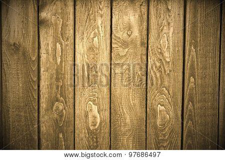 Plank Fence Background