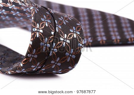 Patterned Necktie