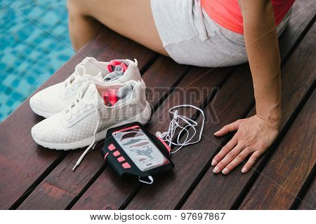 Fitness And Healthy Lifestyle Concept