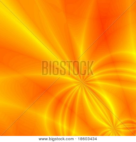 Yellow-red Background illustration