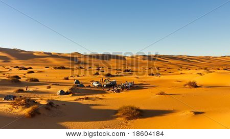 Camping In The Dunes - Awbari Sand Sea, Sahara Desert, Libya