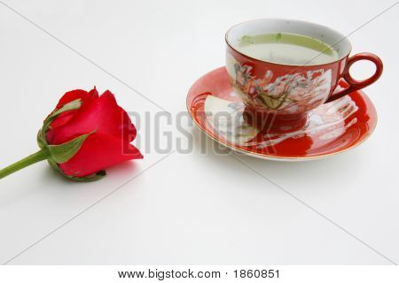 Tea And Rose