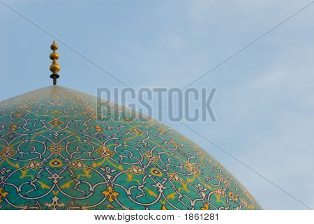 Dome Of Imam Mosque, Isfahan, Iran