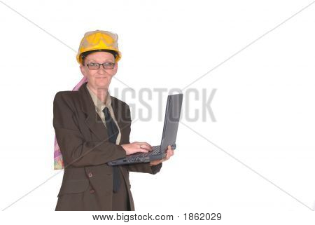 Female Construction Supervisor