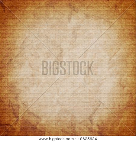 brown paper bag background