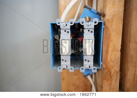 Two Gang Switch Box