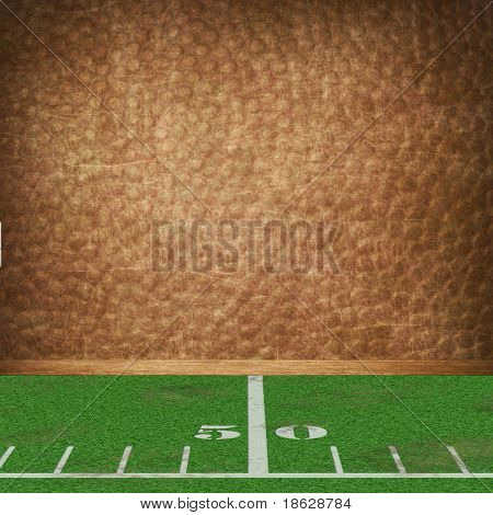 Dimensional Football Room