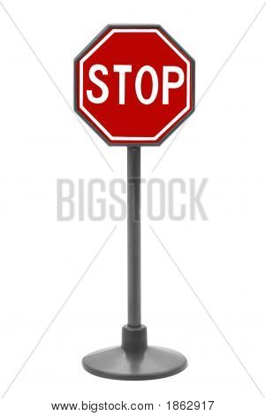 Stop Sign Toy