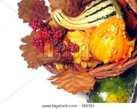 Korb des Herbstes
