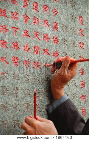 Escriba chino