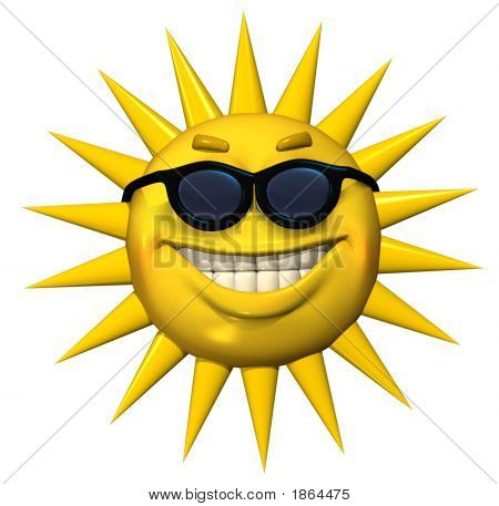 Emotisun  With Sunglasses