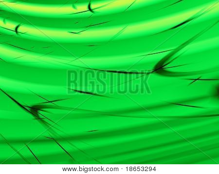 Fractal image of the abstract close up detail of wheat, grain or grass in the wind.