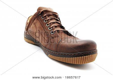 Classical shoe. Element of design.