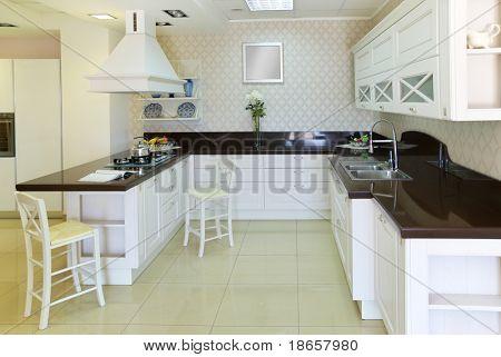 Moderne Küche. Indoor Design.