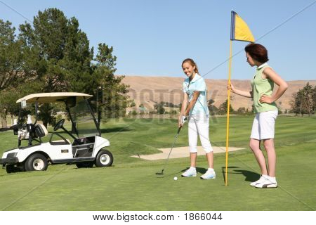 Pretty Women Golfers