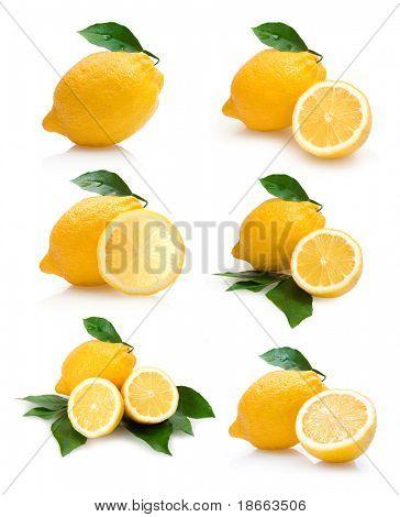 colección de limones