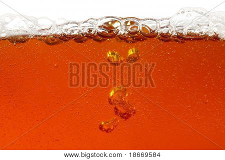real beer, super large background