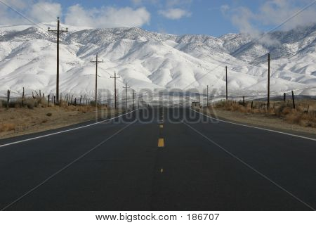 Snow Covered Hills