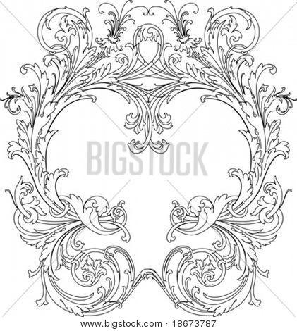 Royal Ornate Frame