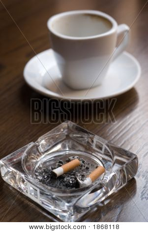 Nicotine And Caffeine.