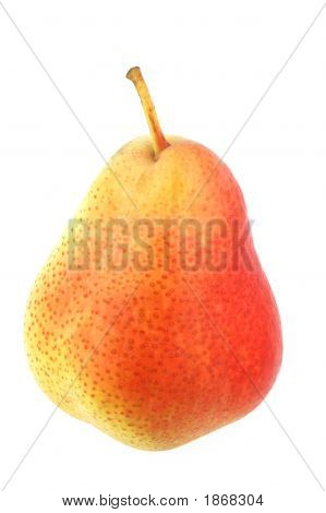 Pear Isolated Over White