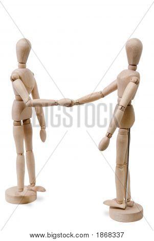Figuras de Shake de mão