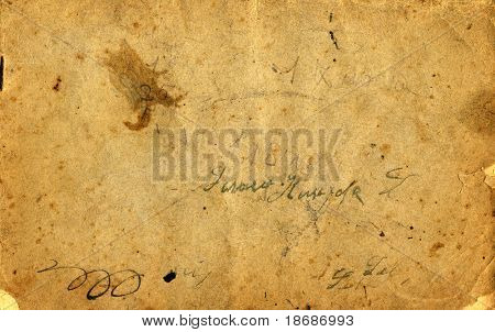 Antique grunge  paper close up , hi-res . Great design element or grunge layer for your projects.
