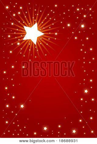 Antecedentes Navidad editable vector rojo