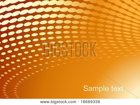 Editable abstract vector background with space for your text