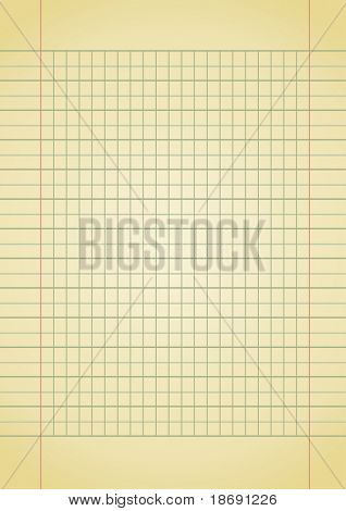 Old yellow notebook paper with space for your text. More images like this in my portfolio
