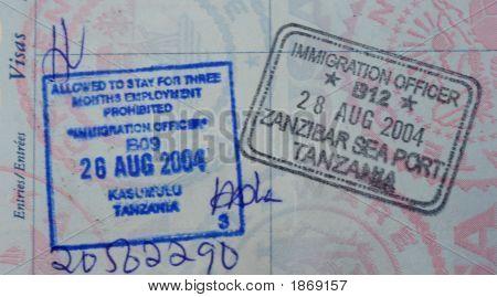 Zanzibar Passport Stamp