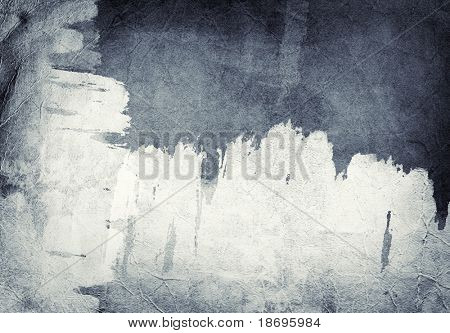 Computer designed highly detailed grunge abstract textured paper background - collage