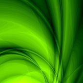 Fantasy green background