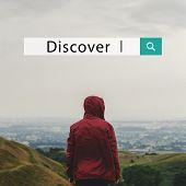 Adventure Discover Explore Somewhere Serenity poster